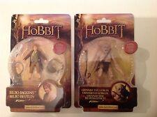 Lo HOBBIT UN VIAGGIO INASPETTATO 2 NUOVE ACTION FIGURE Bilbo, GRINNAH il Goblin