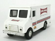 Little Debbie Metal COIN BANK Truck Van - Grumman Olson Route Star Missing Lid