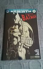 ALL-STAR BATMAN #1 NYCC 2016 SILVER-FOIL VARIANT COVER BY SCOTT SYNDER
