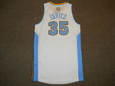 Kenneth Faried Denver Nuggets White Adidas Rev 30 Authentic Jersey XL +2 Mesh