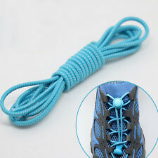 1Pair Elastic No Tie Locking Shoelaces Trainer Running Athletic Sneaks Shoelaces