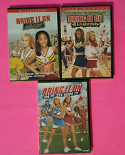 NEW - BRING IT ON DVD LOT - WIN IT / ALL OR NOTHING / AGAIN - Cheerleader FILMS