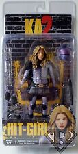"HIT-GIRL (UNMASKED) Kick Ass 2 Movie 7"" inch Action Figure Series 2 Neca 2014"