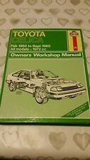 TOYOTA CELICA 1982-1985 1972cc HAYNES WORKSHOP MANUAL 1135 GREAT COND FREE P&P