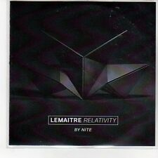 (EQ77) Lemaitre, Relativity By Nite - DJ CD