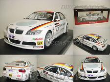 """1:18 Autoart 80648 bmw 320si WTCC"""" 2006"""" #43 (Dirk Müller) rareza nuevo en OVP"""