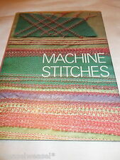 MACHINE STITCHES - ANNE BUTLER HARDBACK 1976