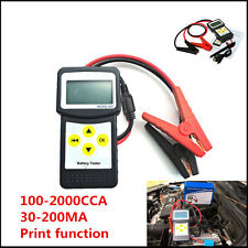 Battery Load Tester Auto Vehicle Battery Analyzer AGM CCA GEL MICRO-200 With USB