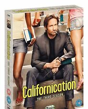 CALIFORNICATION COMPLETE SERIES 3 DVD All Episodes from 3rd Season New Sealed UK