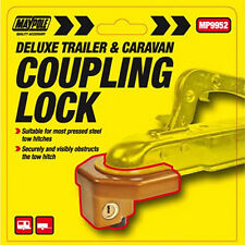 Maypole Deluxe Caravan / Trailer Coupling Hitch Lock / Security Pole Lock