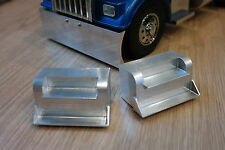 Custom Pair Aluminum Side Step for Tamiya R/C 1/14 Semi King Knight Hauler