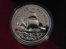 1979 CANADA PROOF LIKE PL cased GRIFFON ship Cabot silver dollar MINT in box