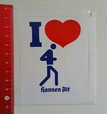 Aufkleber/Sticker: hannen alt - Laufen (21051619)
