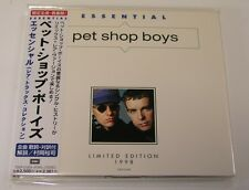 PET SHOP BOY Essential Japan CD new TOCP-51059 obi 13trk Limited Domino Dancing