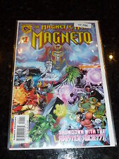 The MAGNETIC MAN Fearuring MAGNETO Comic - No 1 - Date 06/1997 - AMALGAM Comic