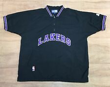 Los Angeles Lakers - Size L - Vintage Starter - NBA Basketball Warm Up Top