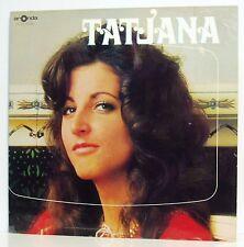 LP Tatjana (Evelyne Tiel) Same Swiss Beat Folk Pierre Cavalli Aronda um 1970
