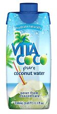 Vita Coco Coconut Water, 11.1-Ounce Containers (Pack of 12) MODEL NO. 52628 NEW