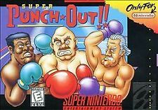 ***SUPER PUNCH OUT SNES SUPER NINTENDO GAME COSMETIC WEAR~~~