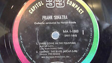 NICE FRANK SINATRA EP WITH PICTURE SLEEVE ON CAPITOL RECORDS 33 1/3 RPM