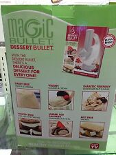 NutriBullet Dessert Bullet - Makes  Ice Cream Sorbets - Magic Bullet - NEW