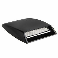1x Universal air flow cover hood Intake Scoop Bonnet Turbo Vent for car vehicles