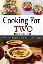 Cooking For Two Box SetCookbook((3 in 1) Slow Cooker, Casserole & Dinner Recipes