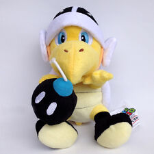 Super Mario Bros Bomb Bro. Koopa Troopa Turtle Soft Plush Toy Stuffed Animal 8""