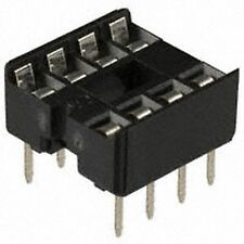 60 pcs.  Low Cost  IC Fassung Doppelfeder Sockel  DIP8  NEW
