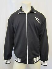 AUTH. BIG BLOCK LETTERS ROCAWEAR FULL ZIP TRACK JACKET SZ XL BLACK, VIC-THOR1