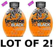 2 PACK Ed Hardy Upgrade To Black 1 Hour Power Bronzer Indoor Tanning Bed Lotion
