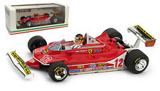 Brumm Ferrari 312 T4 #12 2nd French GP 1979 - Gilles Villeneuve 1/43 with driver