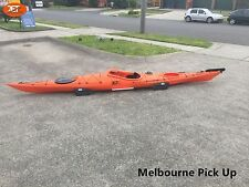 Jetocean Sit-in Turing Kayak 5.02M with Paddle and Rudder Orange