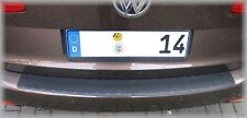 VW Touran  2010-2015  LADEKANTENSCHUTZ - Schwarz mit  Abkantung