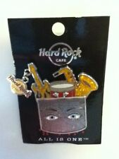 Hard Rock Cafe Hamburg Charity Braille All is One & Dangle Logo Pin 2012