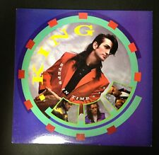 KING Steps In Time Vinyl LP EXC Condition PROMO stamp