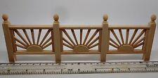 1:12 Scale  Wooden Garden Fence Dolls House Miniature Accessory