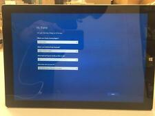 Working AS-IS Microsoft Surface Pro 3 128GB SSD Intel Core i5 4GB Cracked Screen