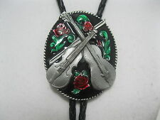 Cowboy Western Bolo Tie #620 - Country Music