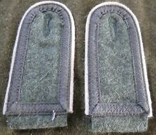 WWII GERMAN HEER ARMY INFANTRY SR. NCO TUNIC SHOULDER BOARDS-SUBDUED TRESSE