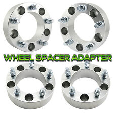 "4x 2"" Wheel Spacers Adapters For Dodge Ram 1500 Truck Van 5x5.5  1/2"" x 20 Studs"