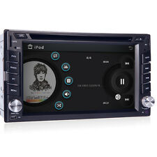 GPS Navigation HD Double 2DIN Car Stereo CD DVD Player Bluetooth MP3 TV Radio