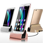 Micro USB Port Desktop Dock Charging Charger Sync Cradle Station Holder Stand