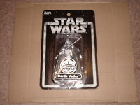 STAR WARS 2004 EXCLUSIVE SILVER DARTH VADER