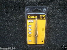 "DEWALT EXTREME DT5026 6MM TO 12MM HOLE ENLARGER STEP DRILL 1/4"" HEX SHANK"