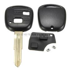 2BT Remote Key Fob Shell Rubber Pad Switch For Toyota Yaris Avensis Corolla RAV4