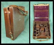 LEITZ LEICA - Vintage LEATHER CAMERA OUTFIT ACCESSORY CASE/ Shoulder Bag