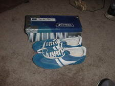 VINTAGE 80s SEARS SHOES SNEAKERS JEEPERS NOS SIZE 10 BLUE WHITE MENS