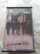 THE BEATLES - LIVE AT THE BBC 1994 EMI APPLE RECORDS DOUBLE PLAY AUDIO CASSETTE