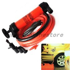 Car 3in1 Siphon Water Oil Liquid Fuel Transfer Inflator Extractor Hand Pump